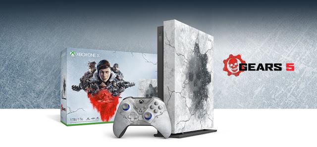 Microsoft выпустит особый бандл Xbox One X к релизу Gears 5