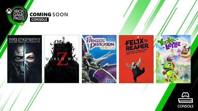 Анонсирована октябрьская подборка игр по подписке Xbox Game Pass
