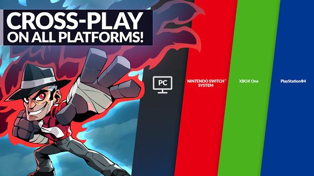 Игроки с Xbox One и Playstation 4 теперь могут играть вместе в Brawlhalla