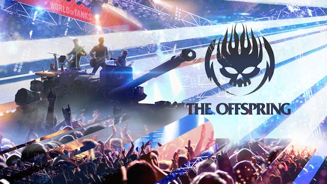 Концерт группы The Offspring проходит в игре World of Tanks