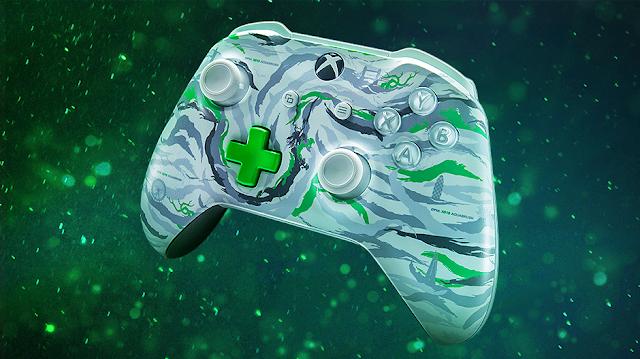 Microsoft представила уникальный геймпад Xbox One в честь X019