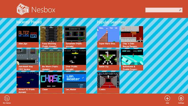 Разработчики эмулятора NESBOX решили перевести его в Web-интерфейс