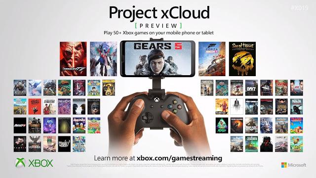 Больше 50 игр уже доступно на стадии тестирования Project XCloud