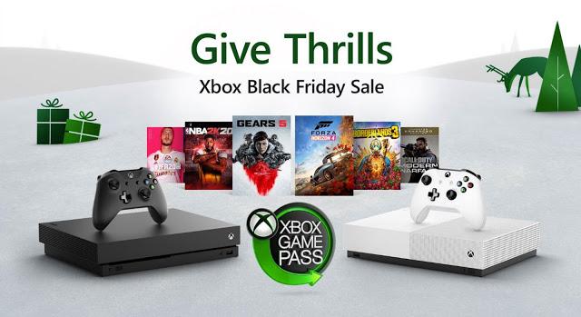 Распродажа приставок Xbox One и дисков с играми в честь «Черной пятницы»