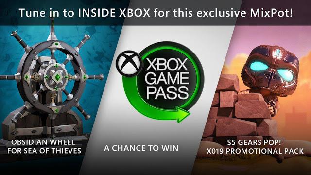 За просмотр Xbox Inside через Mixer игроки получат подарки