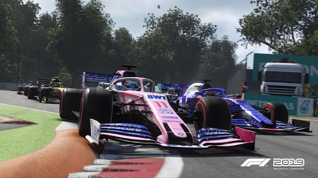 F1 2019 на Xbox One теперь поддерживает клавиатуру