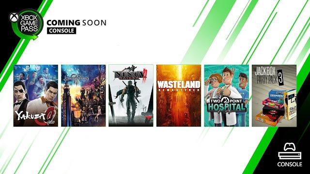 Анонсированы 6 новых игр по подписке Xbox Game Pass для Xbox One