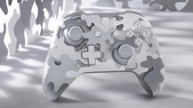 Microsoft анонсировала два новых игровых геймпадов