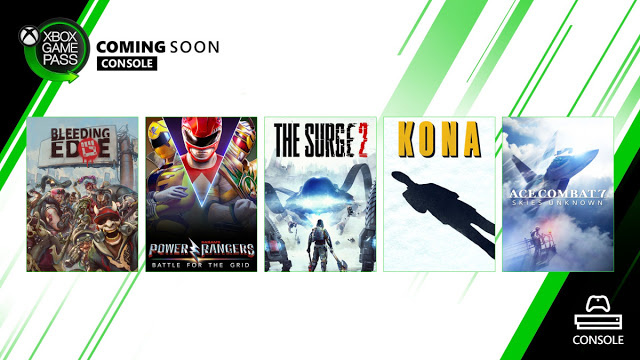 Новые игры для подписчиков Xbox Game Pass на Xbox One и PC