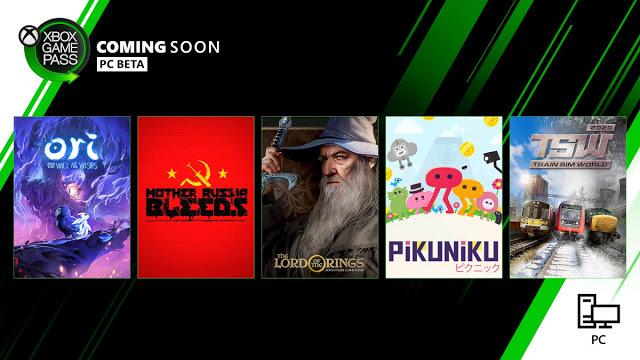 Анонсированы новые игры по подписке Xbox Game Pass для PC