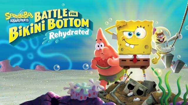 SpongeBob SquarePants: Battle for Bikini Bottom Rehydrated выйдет 22 мая на Xbox One