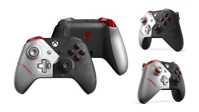 Анонсирована лимитированная версия Xbox One X Cyberpunk 2077 и аксессуары