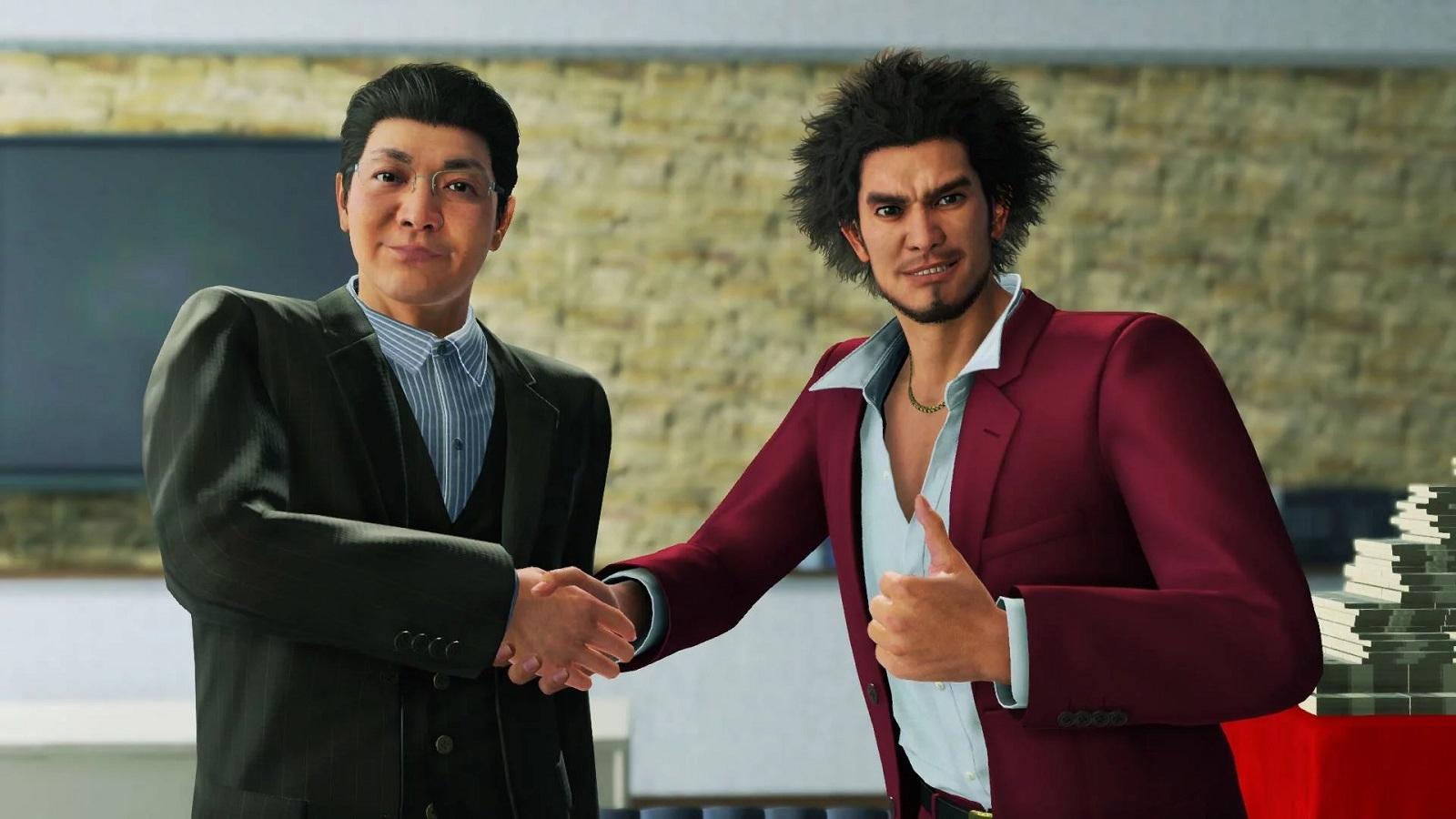 Yakuza Like a Dragon заявлен только на Xbox Series X из следующего поколения консолей