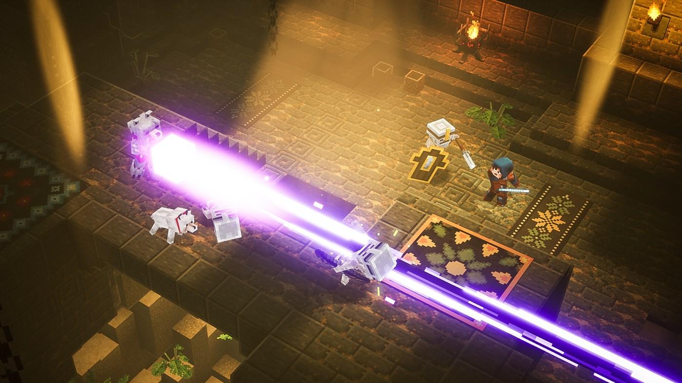 Minecraft Dungeons уже доступен по подписке Xbox Game Pass