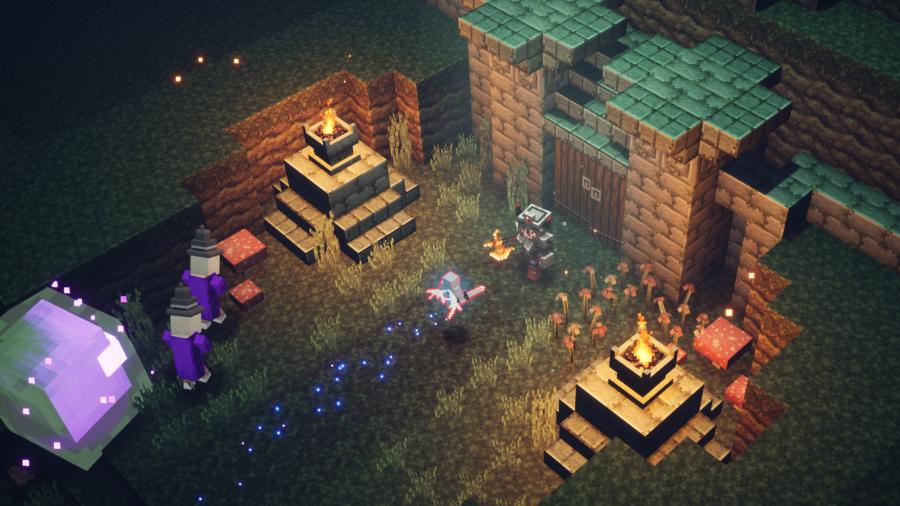 Слух: Стали известны даты релиза DLC для Minecraft Dungeons