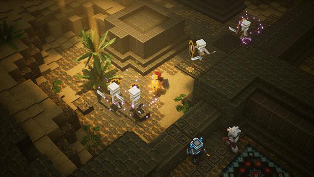 Новый геймплей Minecraft Dungeons – новинки от Xbox Game Studios