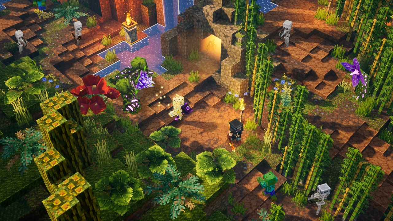 Два DLC для Minecraft Dungeons официально анонсированы