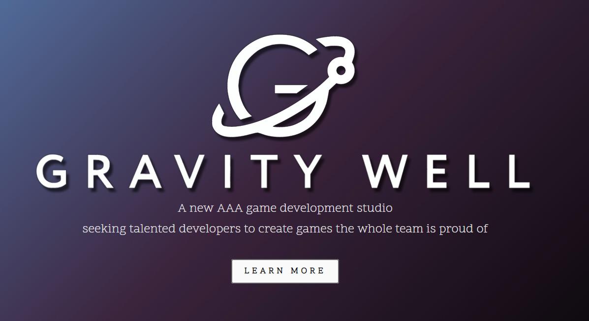Gravity Well – новая игровая студия, которая займется AAA-игрой на консоли следующего поколения