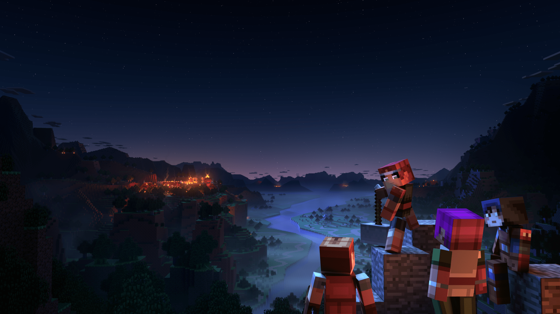 Minecraft Dungeons доступен для предзагрузки на Xbox One