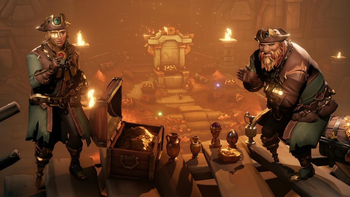 Новое обновление Sea of Thieves: затерянные сокровища – список нововведений