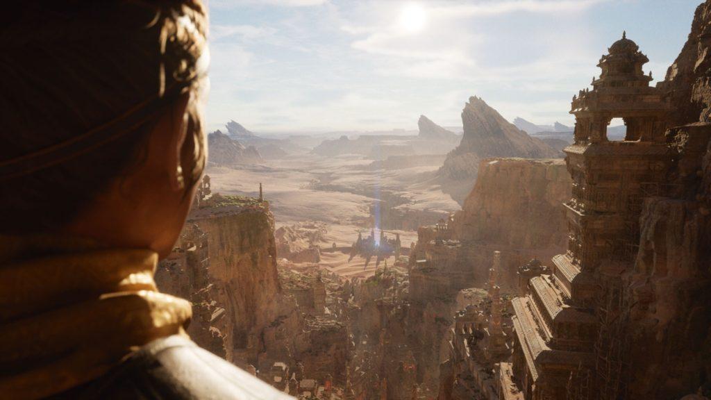 Особенности Unreal Engine 5 Nanite и Lumen будут доступны на Xbox Series X