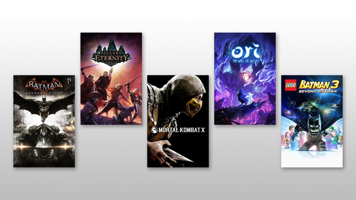 5 новых игр добавили в Project XCloud