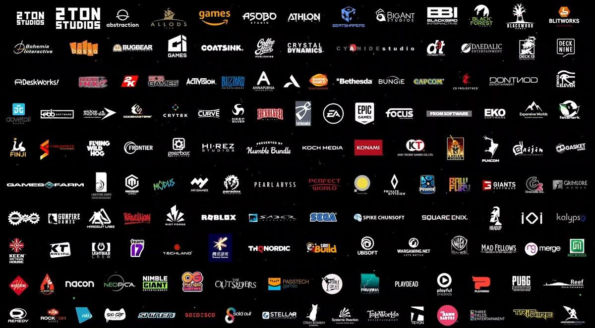 Список из 140 студий, которые работают над играми для Xbox Series X