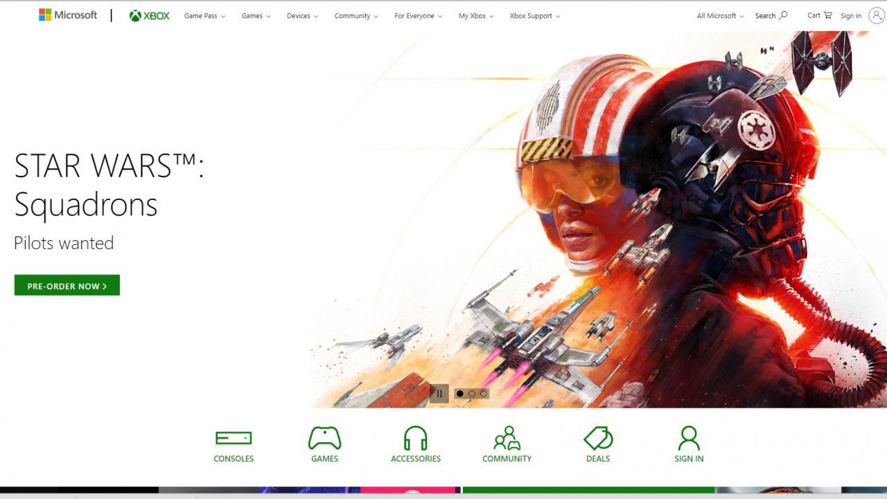 На сайте Xbox нашли информацию о новой игре по Star Wars