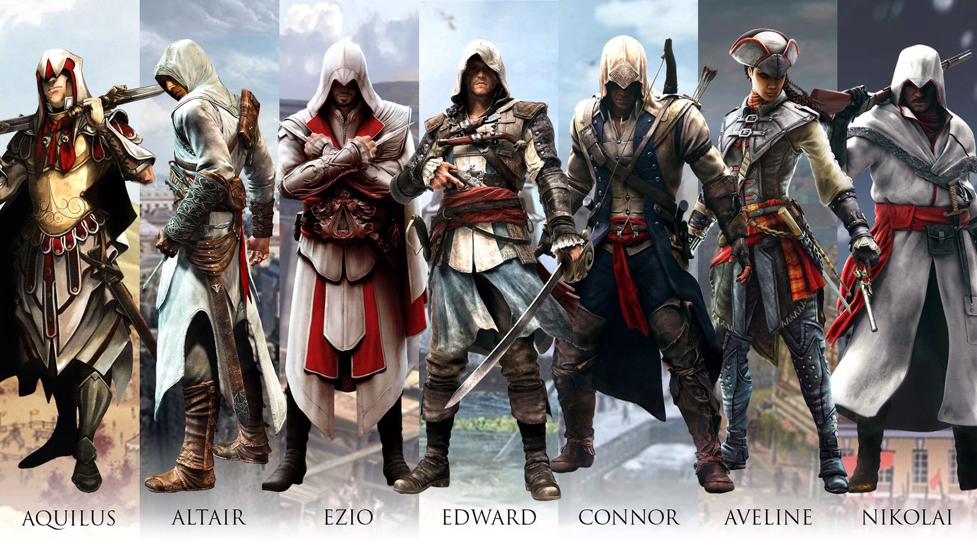 Распродажа игр серии Assassin's Creed: 15+ игр со скидками