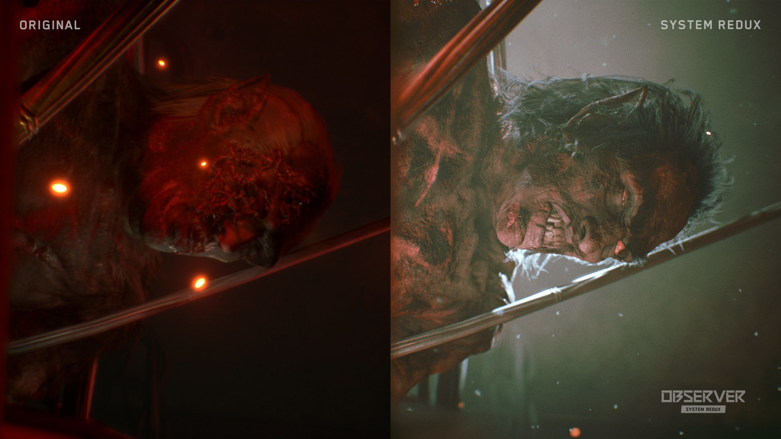 Как будет выглядеть Observer на Xbox Series X: два новых скриншота-сравнения