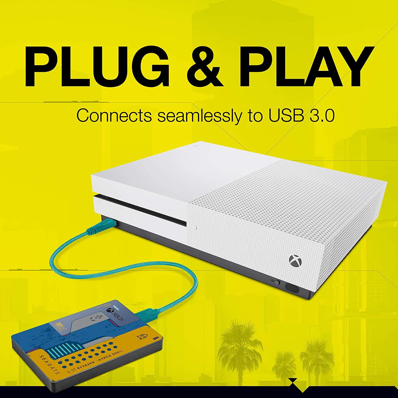 Состоялся релиз Xbox Game Drive в стиле Cyberpunk 2077
