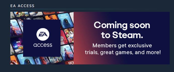 EA Access готовится к выходу в Steam