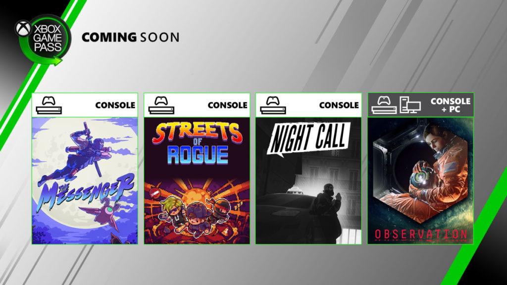 Анонсированы 4 новые игры по подписке Xbox Game Pass в июне