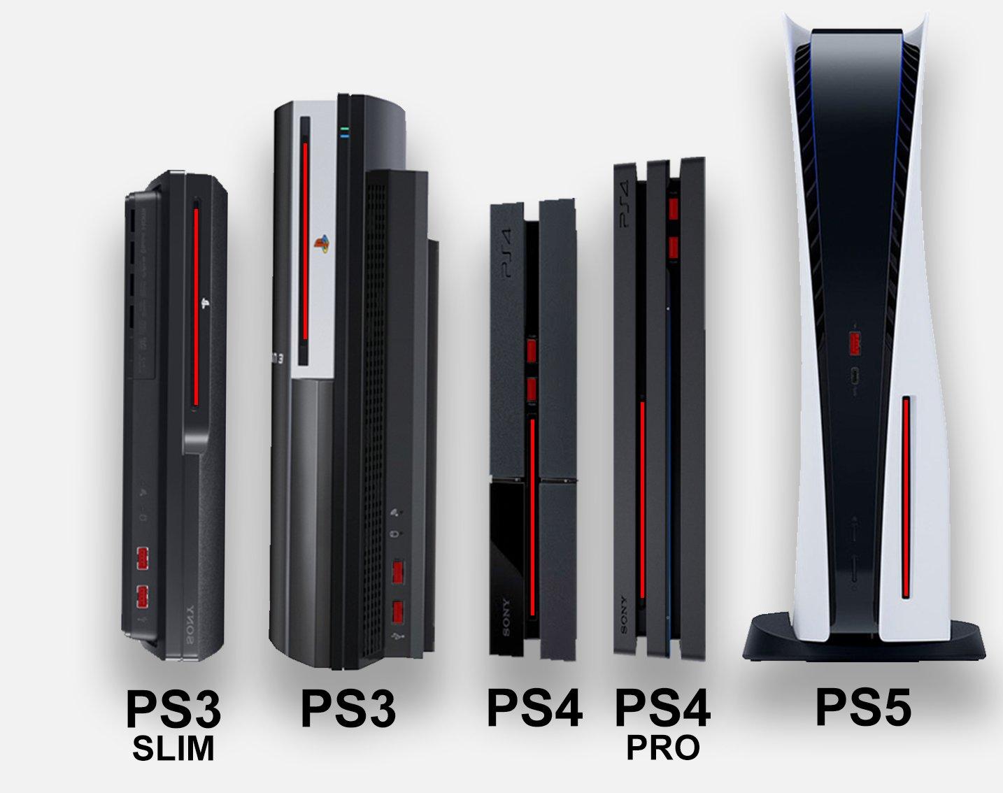 Размеры Playstation 5 сравнили с Xbox Series X, разница велика