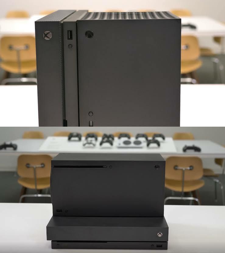 "Сравнение Xbox One X и Xbox Series X на реальных фото ""лицом к лицу"""