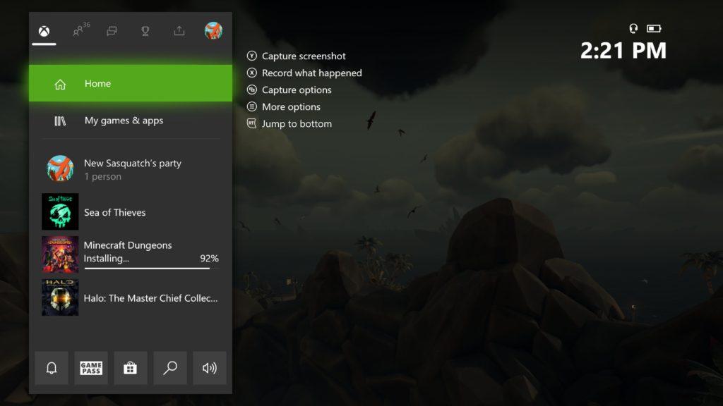 В новой прошивке Xbox One добавили кнопки быстрого взаимодействия