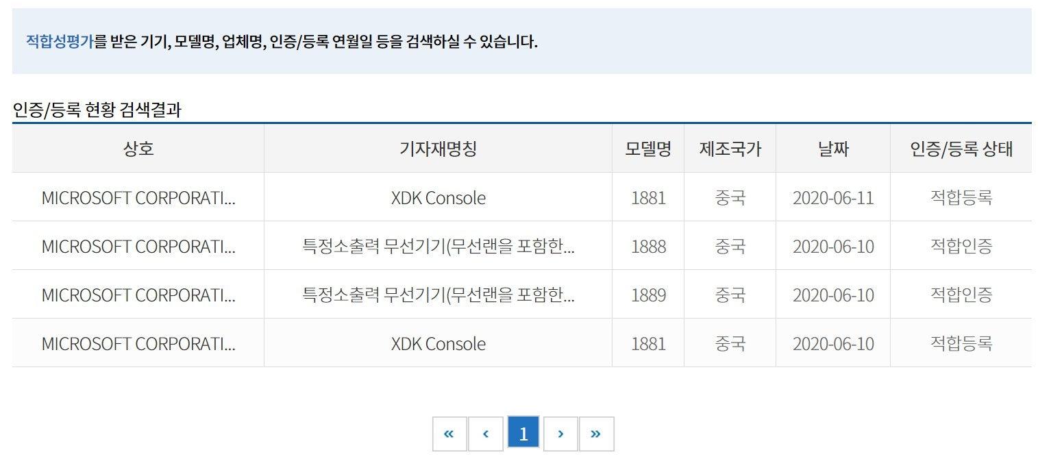 В Южной Кореи сертифицировали две новых модели Xbox