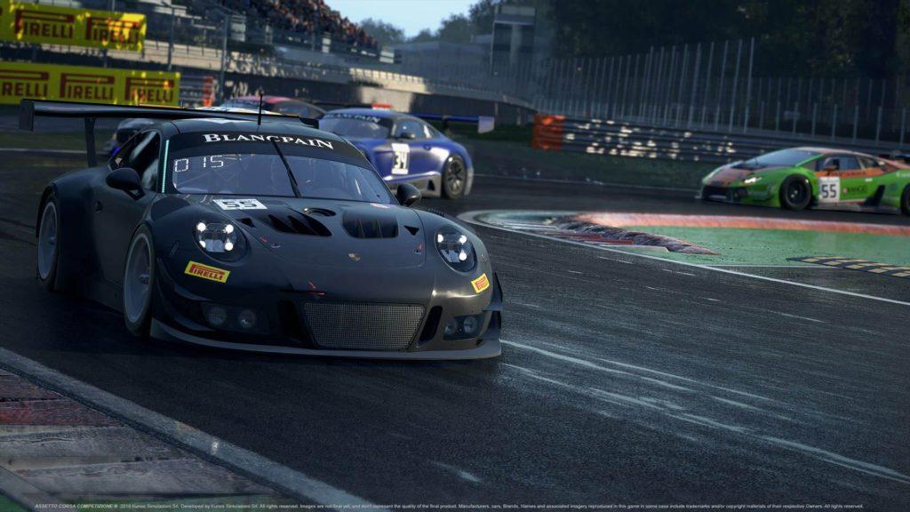 Assetto Corsa Competizione на Xbox One X будет работать в нативном 4K