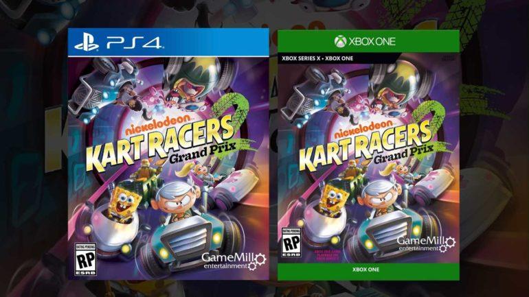 Nickelodeon Kart Racers 2 выйдет на Xbox One в октябре: новый трейлер