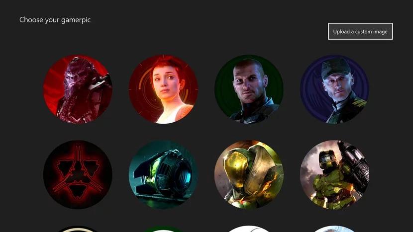 Пользовательские Gamerpics снова включили на Xbox One
