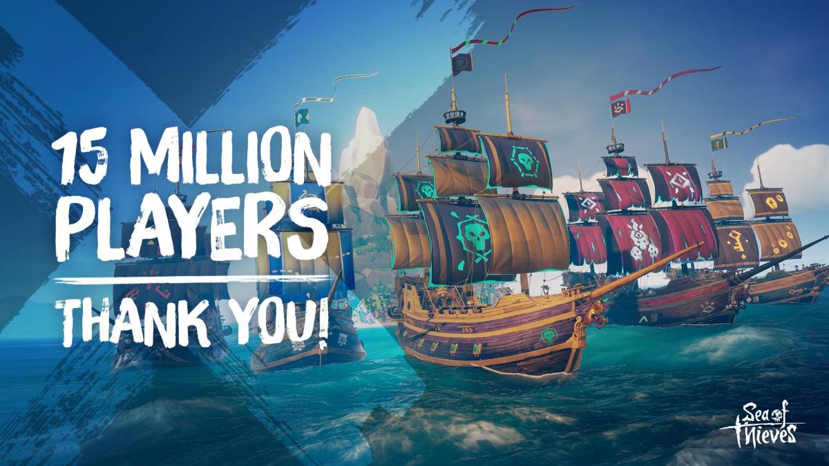 Sea of Thieves преодолела отметку в 15 миллионов игроков