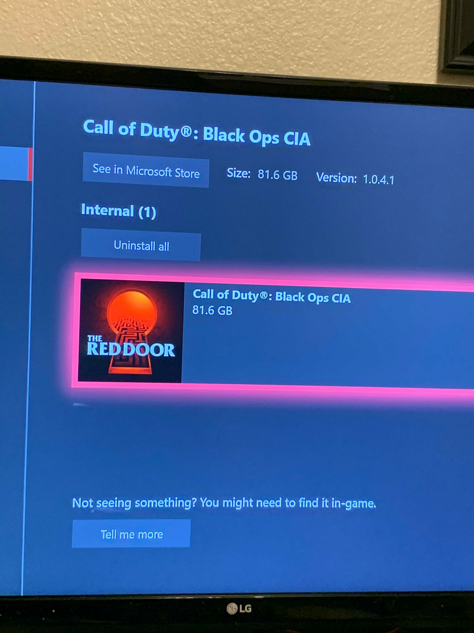 Игроки на Xbox One смогли запустить новый Call of Duty с кодовым названием The Red Door
