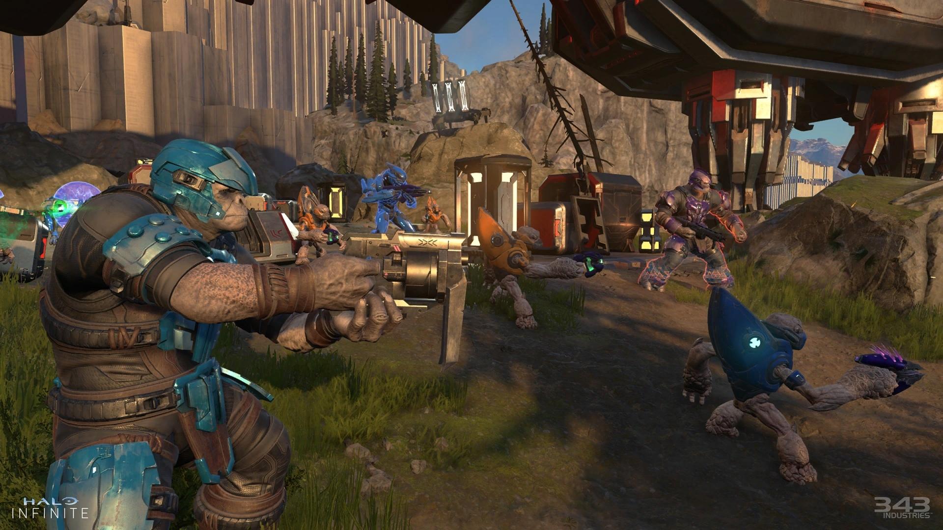 Игроки критикуют Halo Infinite после демонстрации за слабую графику