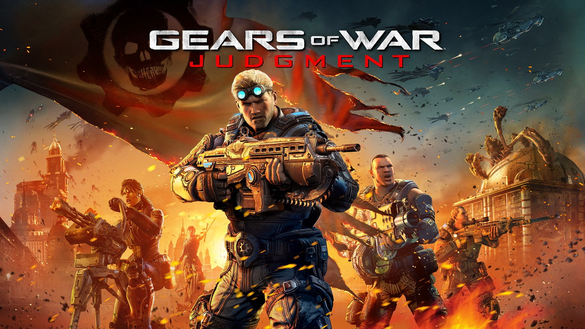 Сейчас можно забрать бесплатно 4 DLC для Gears of War Judgment