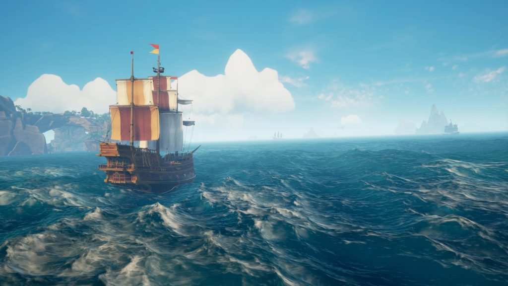 В Sea of Thieves добавили специальную опцию для людей с таласофобией