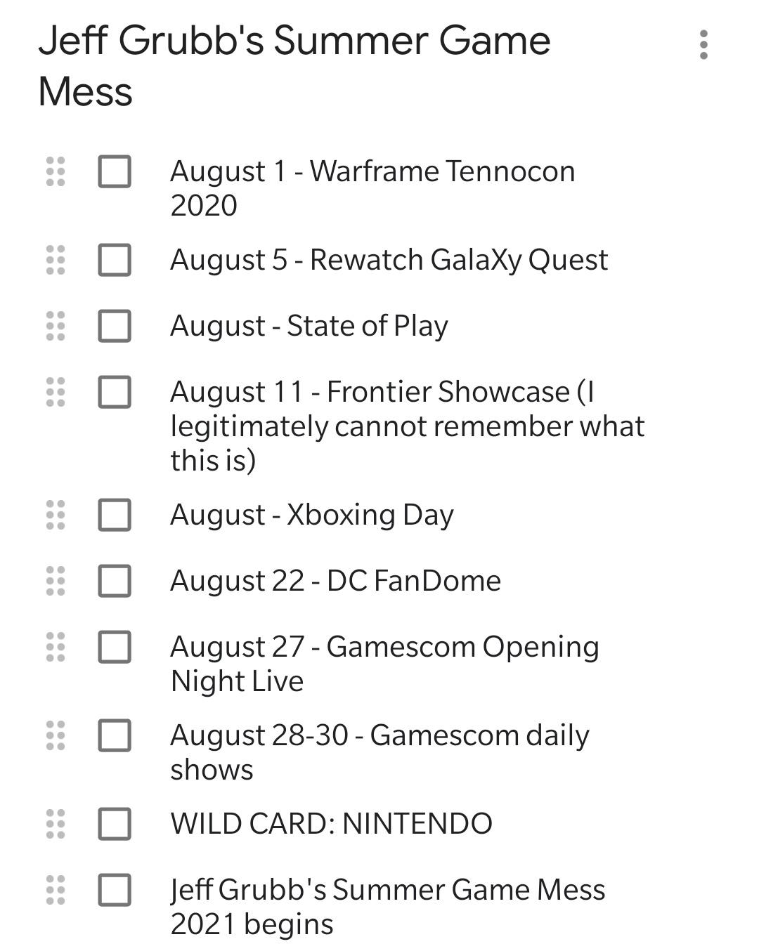 Когда пройдет игровое мероприятие Xbox в августе?