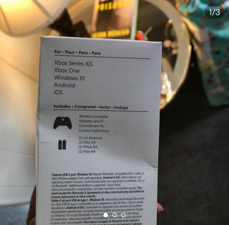 Новое подтверждение Xbox Series S: в сети появились фото совместимого контроллера