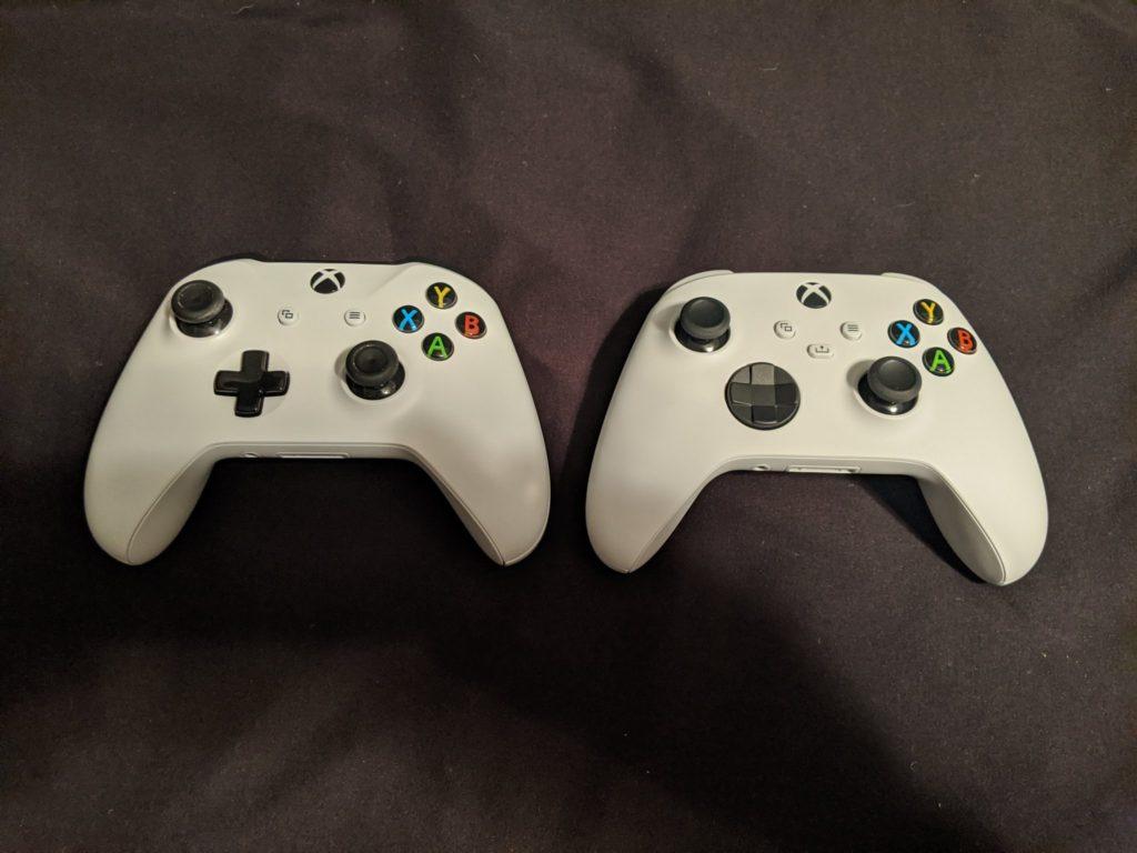 Подробности и фотографии нового геймпада Xbox Series X, сравнение с геймпадом Xbox One