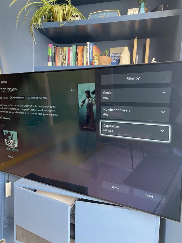 Новый Microsoft Store позволяет отфильтровать игры с 60+ FPS