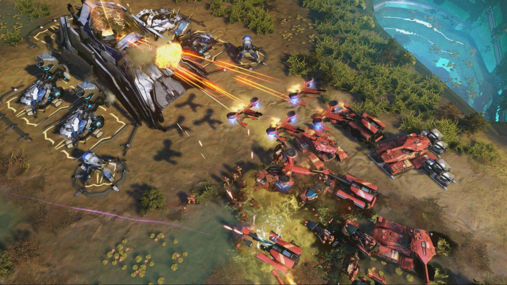 После года без поддержки, разработчики Halo Wars 2 выпустили патч с обновлением баланса
